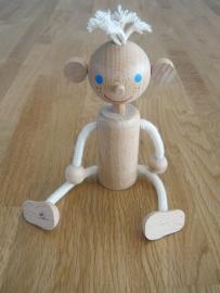 houten jongen taart topper