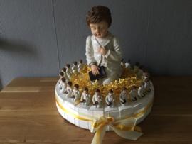 communie taart jongen groot