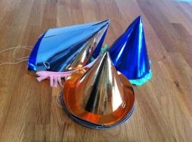 feest hoedjes diverse soorten