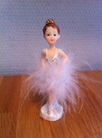 ballerina met pluim middel groot 11 stuks