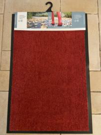 rode loper droogloopmat 60 x 90 cm