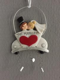 Just Married hanger