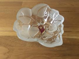 Walther glas glazen schaaltje (aardbei)