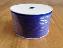 lint stof kleur blauw per rol