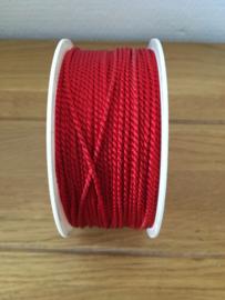 koord lint rood kleur 100 meter
