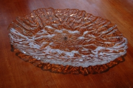 walther glas schaal transparant