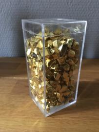 tafel decoratie goud klompjes incl bewaarbakje