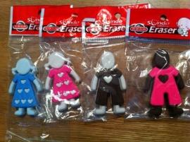 gum in poppetjes model 4 soorten prijs per stuks