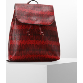 Pieces PCDake Snake Backpack  Rugzak Kleur Tomato