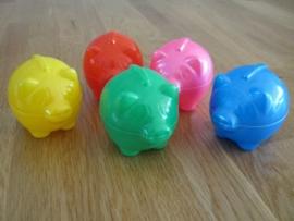 spaarvarken div kleuren