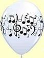 ballonnen muziek noten per stuk