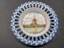 "Royal Makkum Plate ""Landscape""  Model 1"