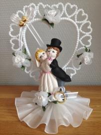 huwelijk koppel taarttopper luxe groot