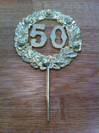 50 jaar steker  prijsper 1 stuks