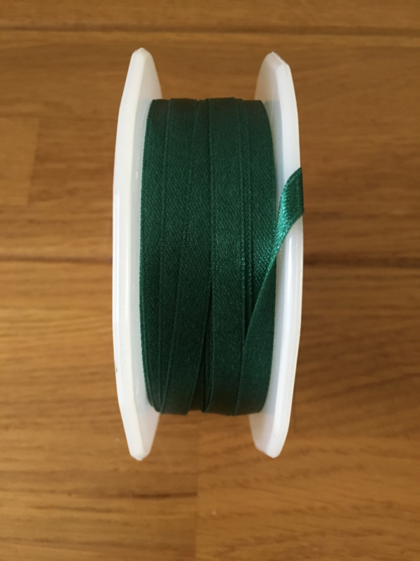 lint groen hunter satin per meter
