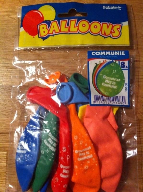 communie ballonnen div kleuren (8)