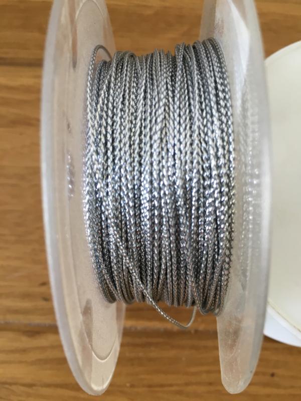 lint koord zilver per meter