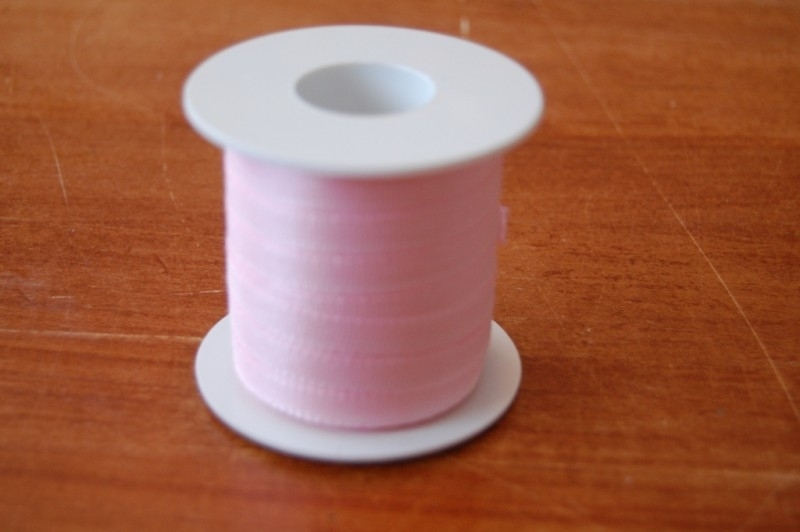 lint stof 20 mtr roze per rol