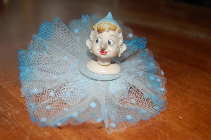 pinokkio blauw opgemaakt