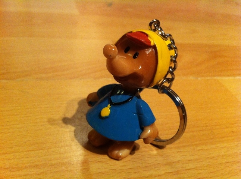 sleutelhanger muis met hoedje prijs per stuks
