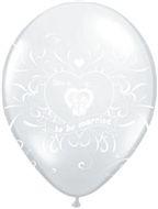 love is ballonnen wit.