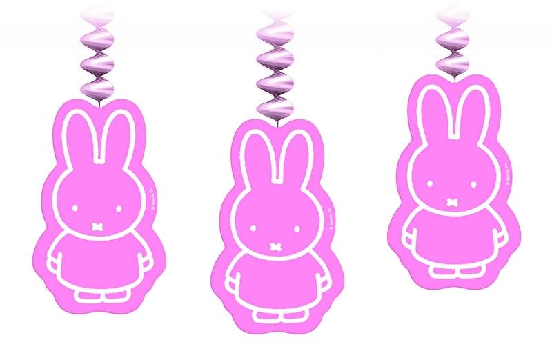 nijntje hanging swirl roze