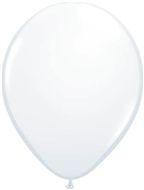 standaard ballonnen wit per 10 stuks