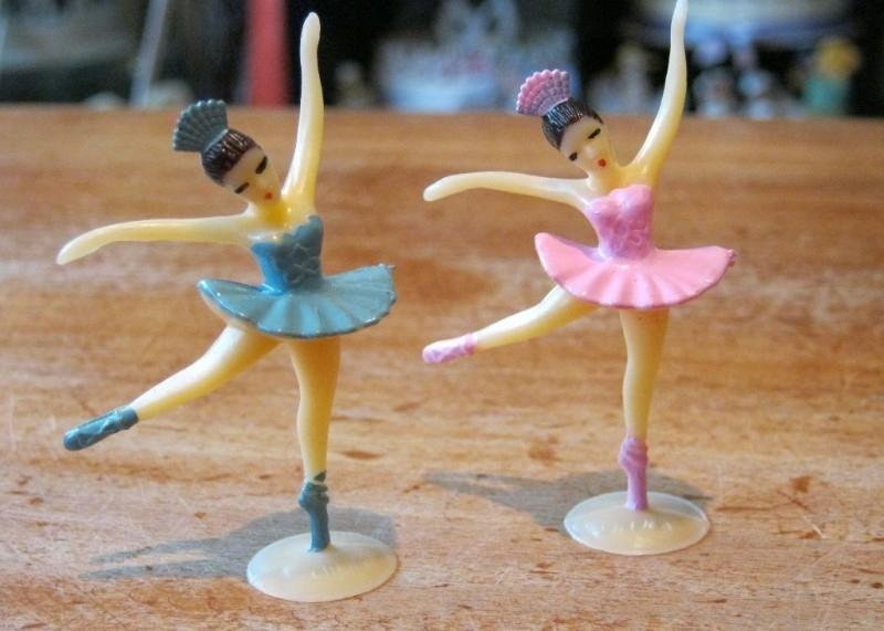 ballerina taarttopper kleur turquoise