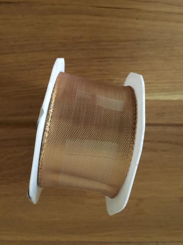 lint op rol copper  2 meter x 38 mm