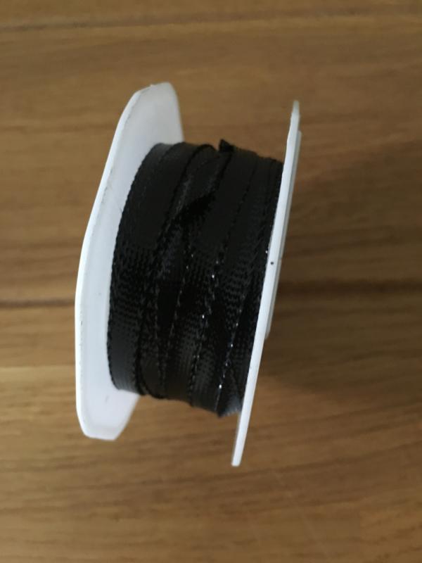 rol op lint  black 3 meter x 6 mm