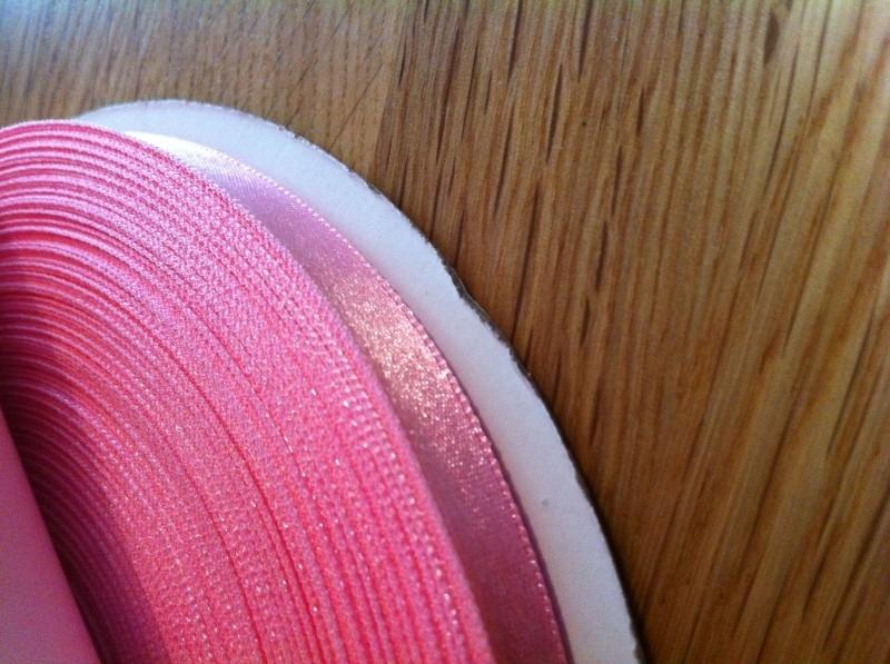 lint per rol 50 meter roze