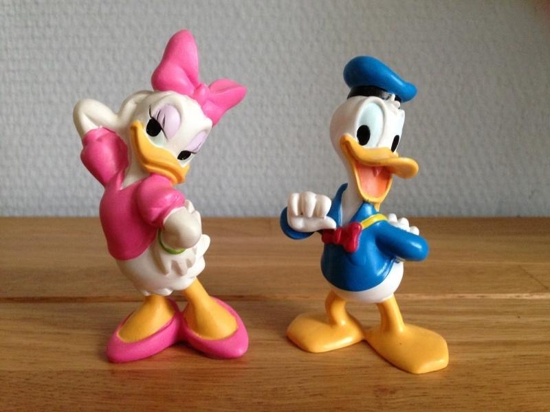 disney donald duck en katrien topper set