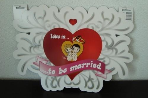 kroonschild deurbord love is