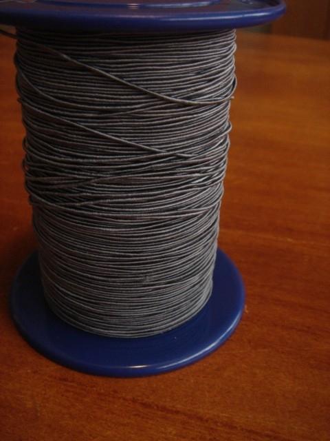 lint grijs-blauw draad per meter