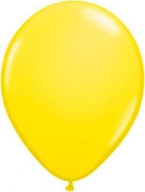 standaard ballonnen geel per 10 stuks