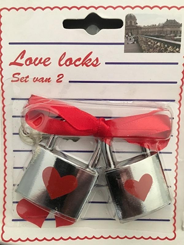 love locks hartjes slotjes met sleutel