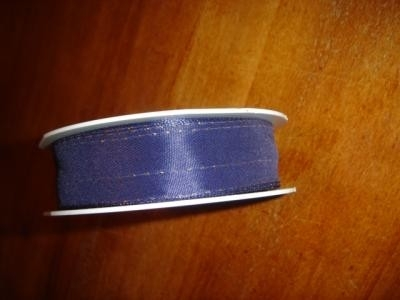 lint stof blauw 1 per meter