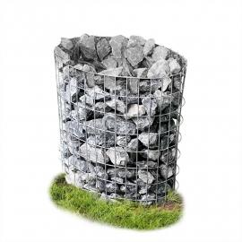 Schanskorf 80x75x45 cm Ovaal Steenkorven