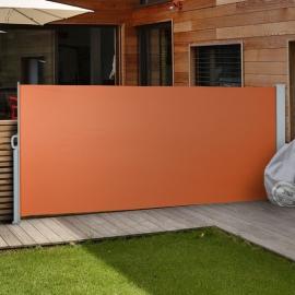 Luxe Terrasscherm Terracotta 160x300 cm (hxb) Windscherm Oprolbaar