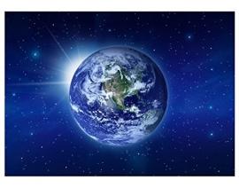 217 MOTHER EARTH 280x200 Aarde Ruimte Wereld fotobehang met lijm