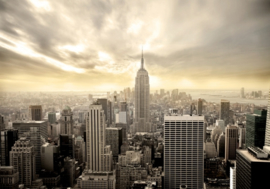 221 New York Skyscraper 400x280 - Wolkenkrabbers Actieprijs Fotobehang