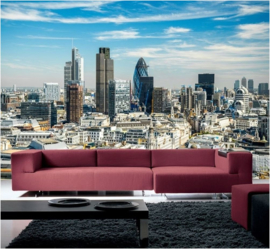 296 London Skyline 420 x 270 CM Fotobehang