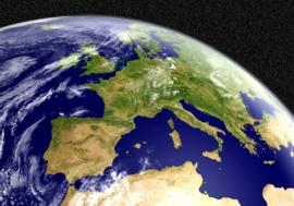 005 Planeet Aarde 300x210 Europa Fotobehang