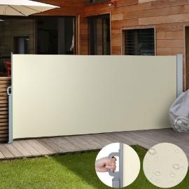 Luxe Terrasscherm Beige 160x300 cm Rolscherm