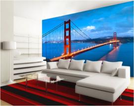 234 Golden Gate Bridge USA 300x210 Fotobehang
