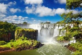 284 Iguazu Falls 400 x 280 Watervallen Argentinië Brazilië Fotobehang