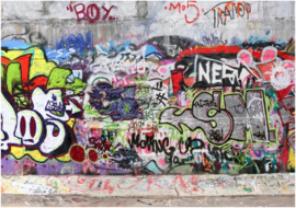 027 Graffiti nr 3  Behang 400x280  Fotobehang
