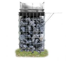 Schanskorf Houtskool Barbecue 43x95x43 cm Steenkorf Gabionen