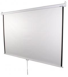 Projectiescherm Beamer scherm 203*203 cm handbediend rolveer