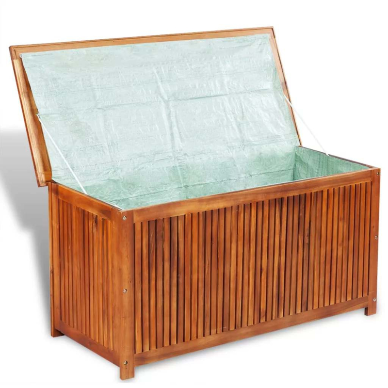 Kussenbox 150 Cm.Kussenkist Tuinkist Kussenbox Massief Akazia Hardhout 120 Cm